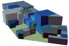 План внутренних помещений, созданный роботом-геодезистом