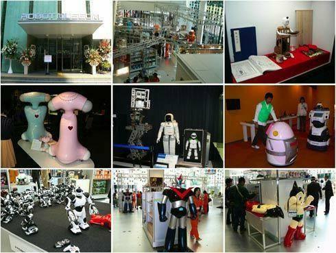 Япония. Музей роботов.