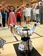 робот-инструктор по танцам