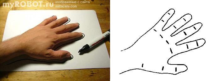 Рука робота для аниматроники