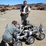 Проект марсианского ровера EADS-Astrium