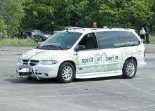 Автомобиль-робот по прозвищу Дух Берлина