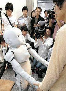 Робот CB2 подражает поведению ребенка