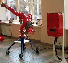 пожарный робот производства ЭФЭР