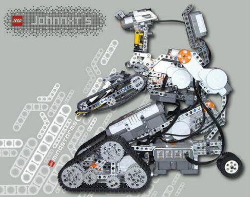 Johnny 5 из LEGO Mindstorms NXT