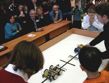 Окружной конкурс Олимпиада Лего-роботов 2007