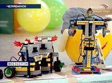 Соревнования лего-роботов в Челябинске