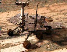 робот Opportunity Mars Exploration Rover