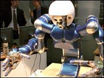 робот, построенный в German Aerospace Centre