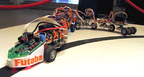 Робот-змея SickSack