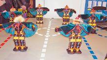 башкирский танец в исполнении Robonova