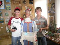 Робот Аксинья ростовских школьников