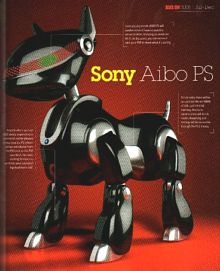 новая Sony AIBO PS