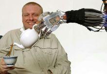 робот с искусственными мышцами из Университета Окаяма