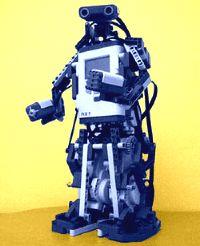 АLPHA REX собран из Lego