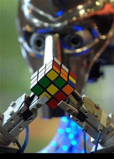 робот Кубинатор