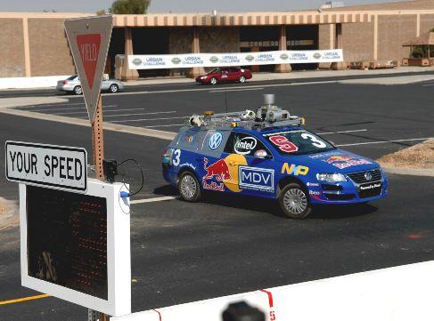 автомобиль TBA, разработанный командой Stanford Racing