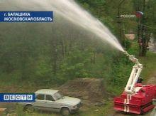 испытания российских пожарных роботов