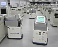 Robotic Blood Sample Courier System
