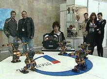 первый открытый чемпионат России по танцам андроидных роботов