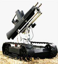 военный робот компании Robotex