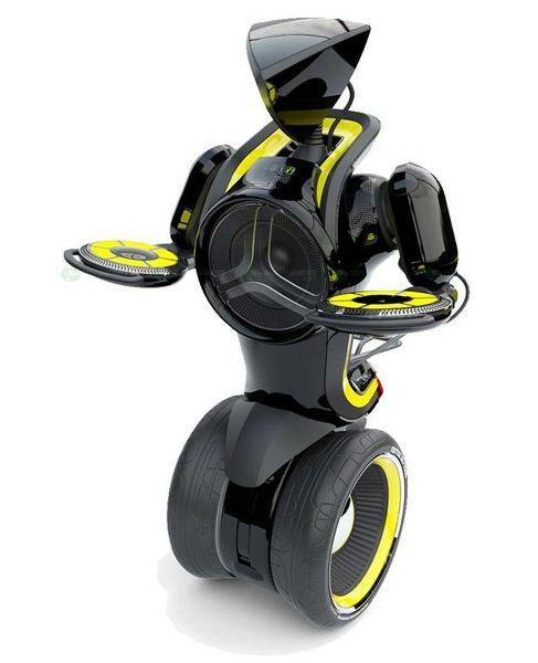 Самоходный музыкальный робот A.M.P.