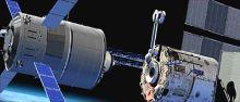 Автоматизированный космический грузовик ATV (Automated Transfer Vehicle)