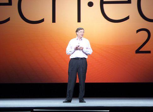 Билл Гейтс на конференции разработчиков TechEd