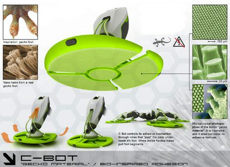 концепт робота C-Bot