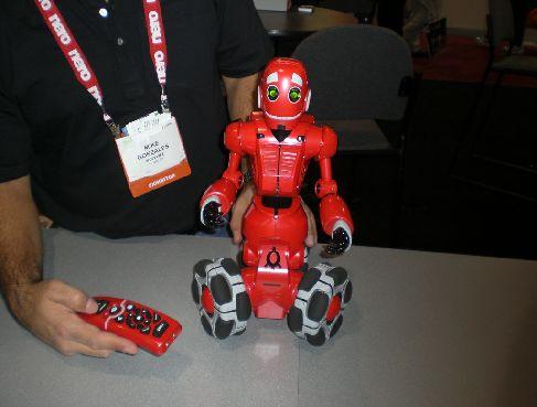 трехколесный робот Tribot от WooWee