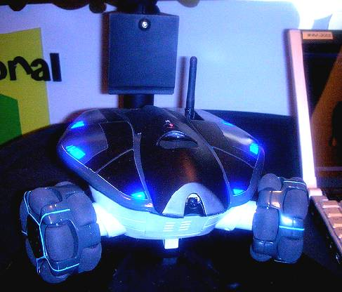 WooWee Rovio - робот-патрульный