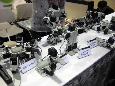 Конструктор роботов Bioloid