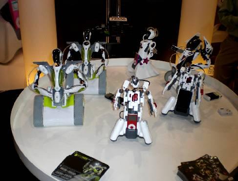 линия конструкторов роботов от Meccano