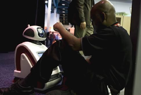 Робот iRobi с ПО от Microsoft