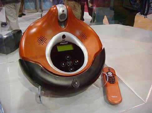 Робот-пылесос с web-камерой от IRobot