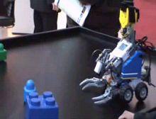 Lego Mindstorm под управлением DialogOS