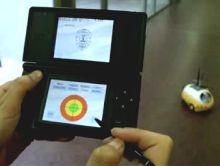 Pekee Robot под управлением Nintendo DS