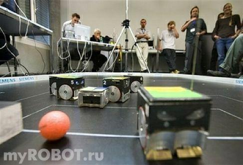 соревнования роботов Euroby2008