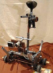Самодельный робот-сторож Gepetto
