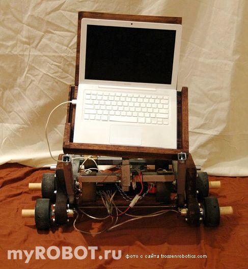 Система управления Gepetto на базе ноутбука от Apple