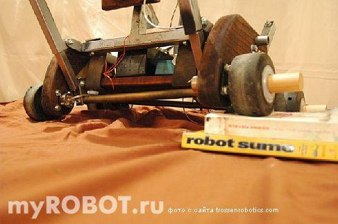 Ходовая система самодельного робота Gepetto