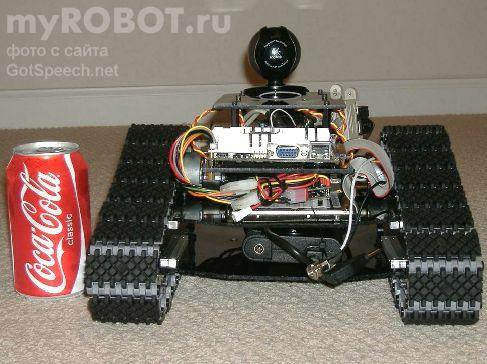 Самодельный робот Magenicon