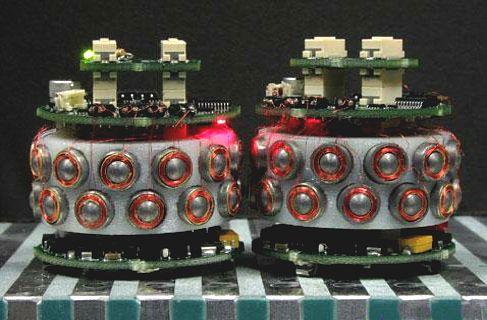 magnetic-swarm robots