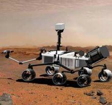марсоход Mars Science Lab