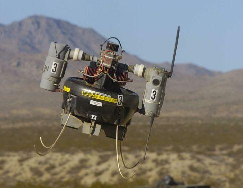 Honeywell's Micro Air Vehicle (MAV)