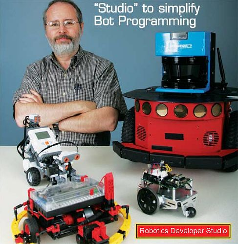Тэнди Трауэр - гуру Microsoft Robotics