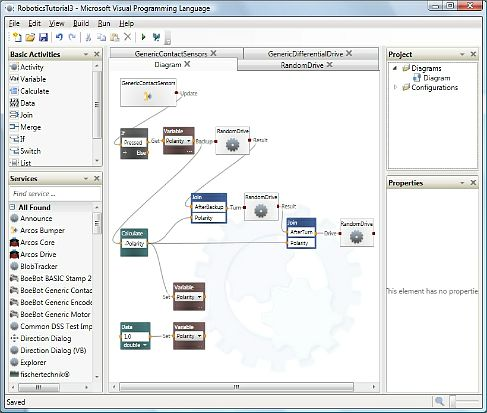 Microsoft Visual Programming Language (VPL)