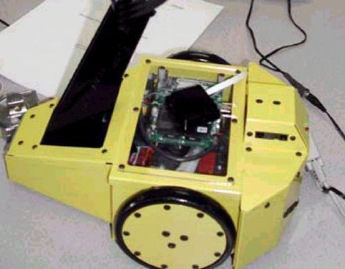 Навигационный модуль NorthStar фирмы Evolution Robotics