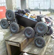 Новосибирский робот-внедорожник
