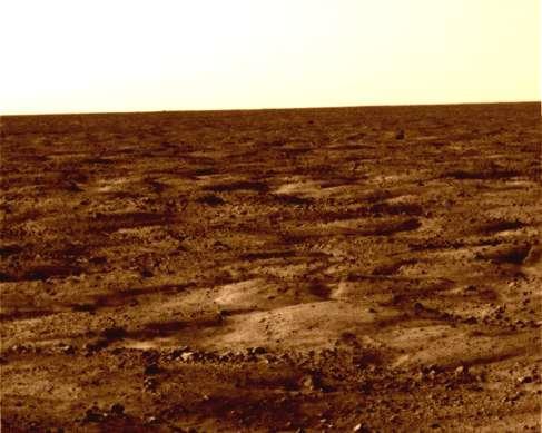 Фотография Марса, сделанная Phoenix Mars Lander